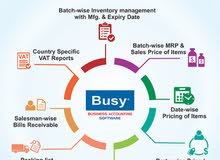 Manage Your VAT Returns Accurately With Busy Accounting software. Contact Us Now!