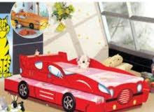 سرير اطفال سيارة 2×1مقاس كبير 192×92