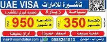 UAE visit visa services