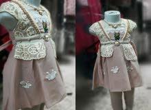 فستان مع فيزون فقط 5-