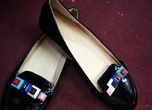 حذاء فلات نسائي اسود 36