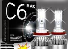 طقم لمبات LED شمعات للسيارات