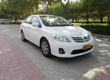 For sale 2013 White Corolla