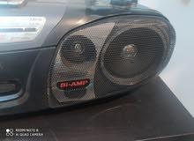 Panasonic stereo audio and radio.
