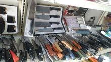 سكاكين معالق مبارد شوك قطاعات اوروبي للبيع