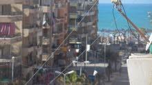 شقة واجهه بحري في الشارع الرئيسي بقلب الخدمات وبجوار البحر