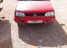 Red Volkswagen Golf 1995 for sale