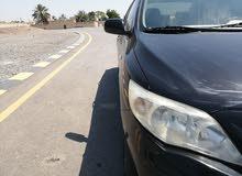 تويوتا كورولا بحالة وكاله خليجي من وكالة عمان المستخدم الأول