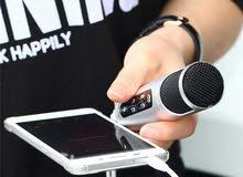 مايكرفون تسجيل احترافي للتلفون والكاميرا شحن