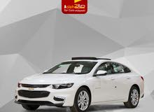 White Chevrolet Malibu 2018 for sale