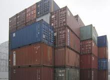 20' & 40' Containers,  حاويات مستعمله للبيع 20 قدم و40 قدم