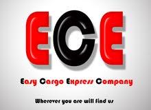 """شركة  ECE  للشحن """" التسليم من الباب للباب """" جميع محافظات مصر"""