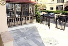 شقة ارضية مميزة للبيع في تلاع العلي 110م مع ترس 50م بسعر 75000