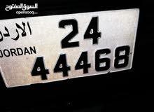 44468_24 رقم سياره للبيع السعر 600 دينار
