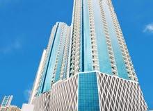 غرفة وصالة للأيجار السنوي عجمان الراشدية برج جديد اول ساكن موقف خاص جيم مسبح