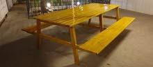 طاولة حديقة خارجية
