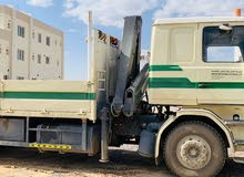 Scania Truck with crane for sale