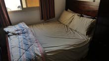 bed plus mattress and dressing table for sale
