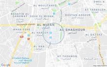 بيت بل زاهرة شارع الاشمر طابق تاني غرفتين وصالون