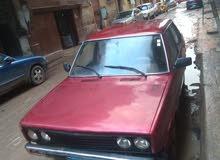 سيارة 131 موديل 1981 للبيع مشدودة