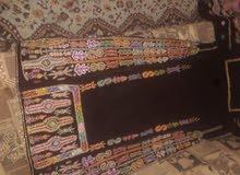 ثوب مخمل الأصلي ملكي تصميم فلسطيني