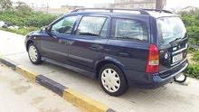 سيارة أوبل أسترا 2003 بحالة جيدة للبيع