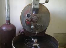 محمص قهوه 10 كيلو و مطحنة قهوه 5 كيلو و مطاحن بهارات و مكبس تغليف