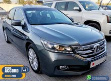 HONDA ACCORD MODEL 2015 BAHRAIN AGENCY GOOD CONDITION