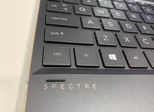 4K 15.6 Inch Spectre With Graphics Card /i7-10th Gen/16 GB Ram/NVIDIA 1650 ti 4GB Vram/Pen/1 TB SSD