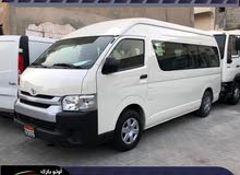 Bahrain used Toyota Hiace 12 seater bus high roof