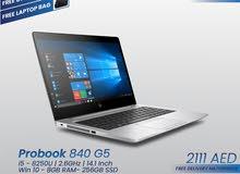 HP Probook 840 G5 – Core i5 – 8th Gen  – [FIXED PRICE]