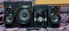 باناسونيك DVD mp3 cassetخمس سماعات مع ووفر استخدام بسيط مع الكارتون