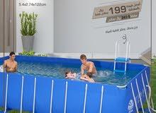 حوض سباحة عائلي يكفي 12 فرد