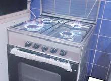 Cooking Range with Gas Pipe & Regulator