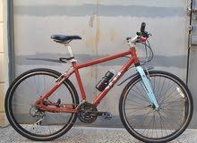 دراجه هجين جاينت سيك فول المنيوم جديد جدا