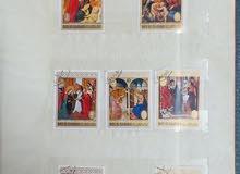 عدد 2 البوم من الطوابع النادرة و القديمه المختلفة