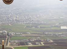 قطعة ارض مميزة للبيع في عين الباشا ذات اطلاله على ابو نصير مساحة 500 م قوشان مستقل