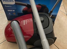 PowerGo 1800 W vacuum barely used for 7/8 months, ALMOST NEW!