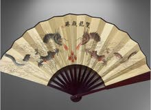 oriental Chinese decorative handfan