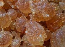 صمغ عربي (هشاب) gum Arabic