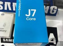 موبايل \سامسونج J7 core جديد