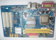مذربورد عدد2 كمبيوتر مع المعالج
