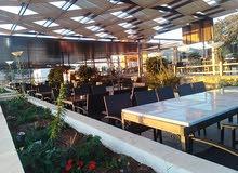 مطعم سياحي للبيع جبال السلط