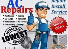 Ac repair and servise تنظيف المكيفات والغسالات والثلاجات ومكيفات