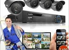 كاميرات المراقبة مع عرض مغري