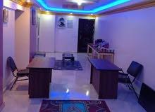 غرفة مكتب مفروشة للايجار بميدان الجيزة