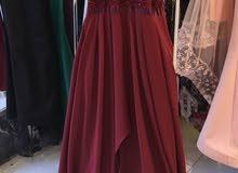 فستان سهرة صناعة تركية خامة ممتازة
