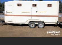 عربة 4 خيول فايبر