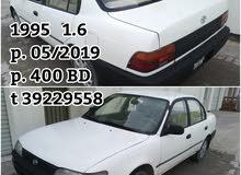 for sale toyota Corolla 1995.  1.6