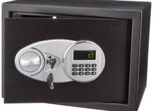 خزنة ديجيتال شاشة رقم سري 2 مفتاح طوارئ